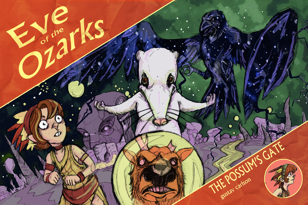 Eve of the Ozarks #3 on comiXology now!